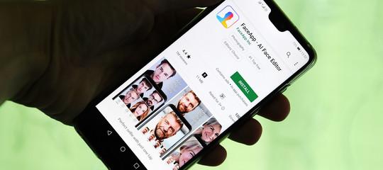 faceapp dati sicurezza privacy invecchiamento volto