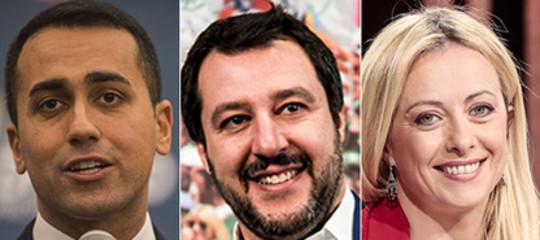 elezioni anticipate simulazione partiti