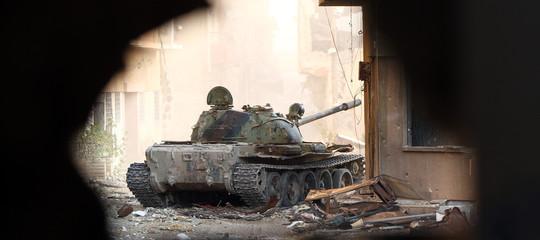 libia serraj haftar guerra