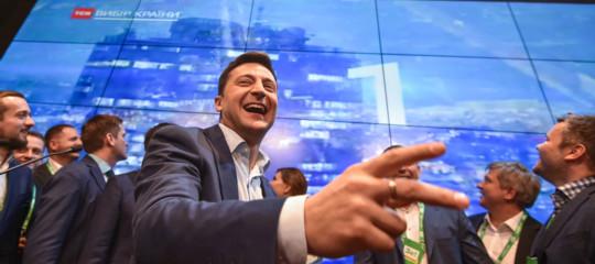 elezioni ucraina zelensky comico rocker