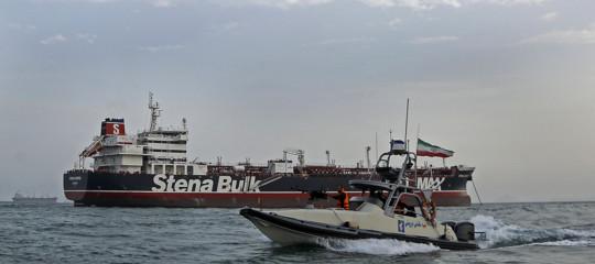 iran gran bretagna petroliere