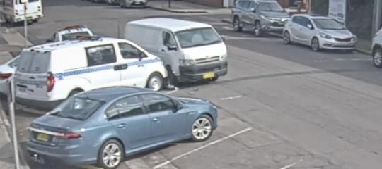 furgone anfetamine auto polizia