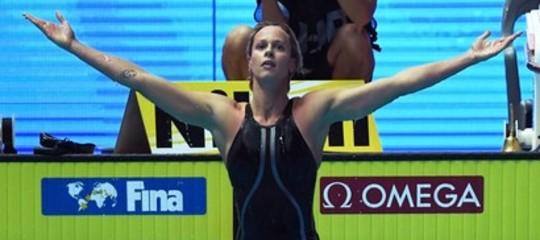 pellegrini oro mondiali nuoto