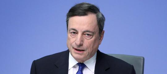 bcedraghi quantitative easing tassi
