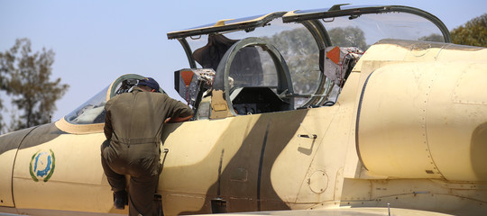libiahaftar bombardamenti
