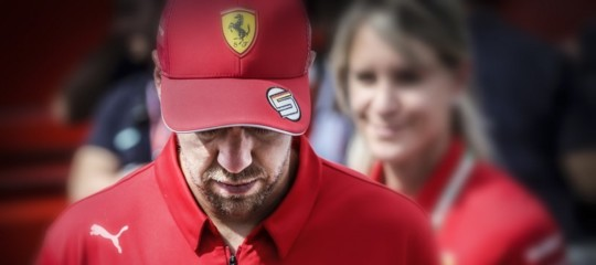 disastro ferrari prove gp germania