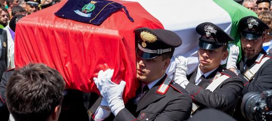 ricostruzione notte carabiniere ucciso