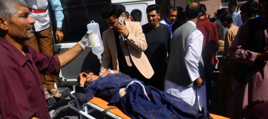 afghanistan bus mina