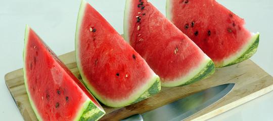 cocomero melone consumo
