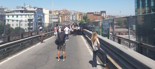 demolizione tangenziale est roma