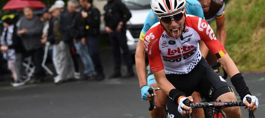 Lambrecht muore Giro di Polonia