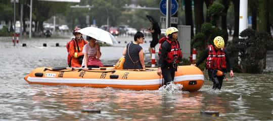 cina tifone lekima morti sfollati
