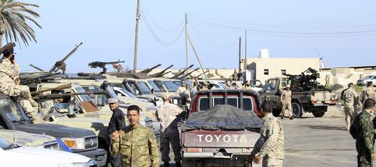libia tregua haftar serraj