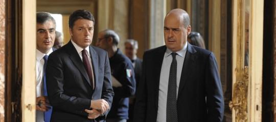"""Pd,disaccordo interno tra Zingaretti e Renzi dichiara: """"Governo duraturo e stabile,no a transizione"""""""