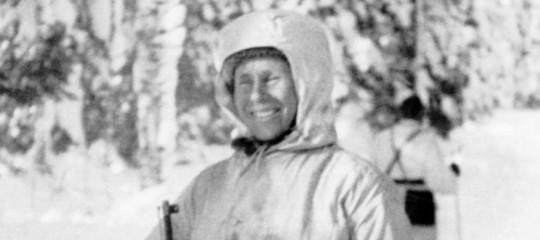 morte bianca cecchino finlandese
