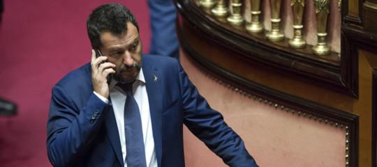 salvini taglio parlamentari