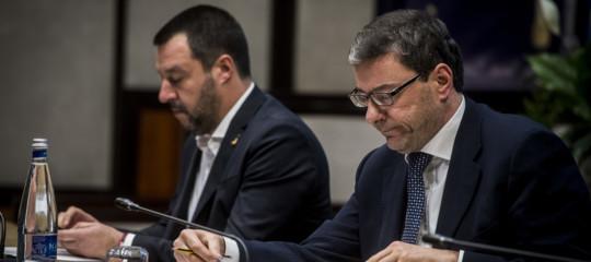 giorgetti ministro economia