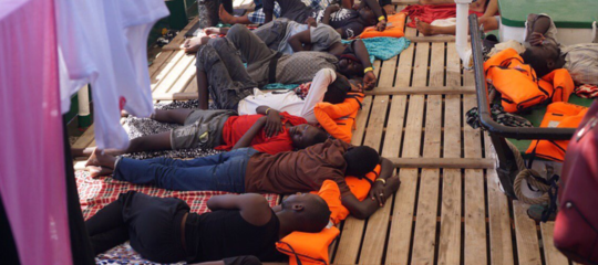 open arms migranti lampedusa