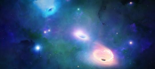 fusione buco nero onde gravitazionali
