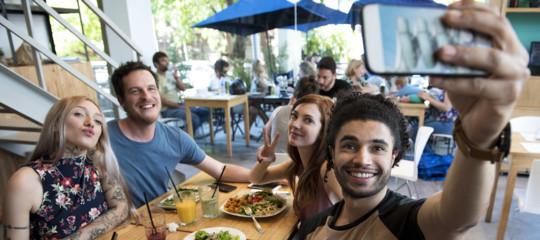food selfie vacanze