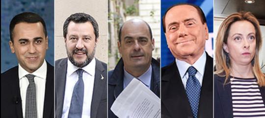 di maio salvini crisi governo conte