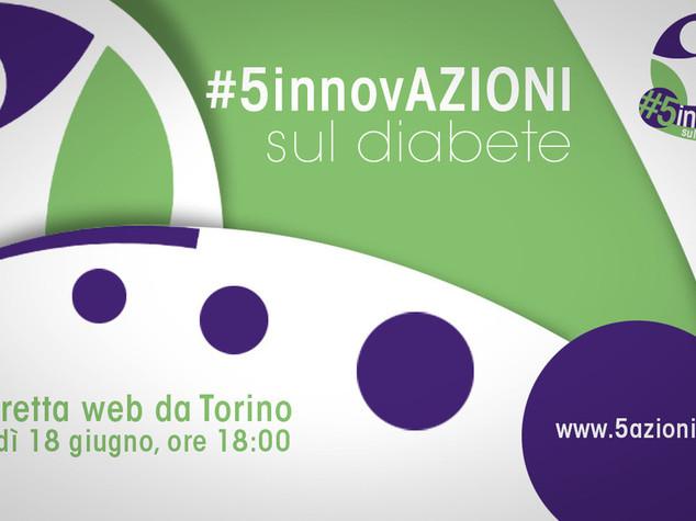 Salute: a Torino #5innovAzioni sul diabete