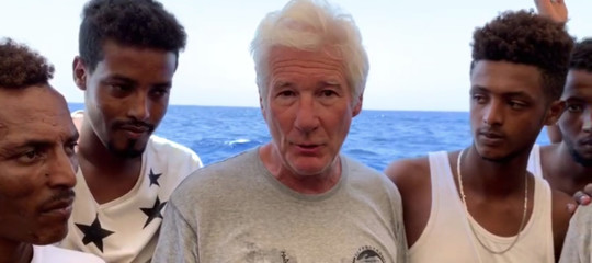 richard gere salvini migranti