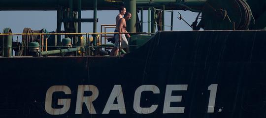 petroliera iran gibilterra