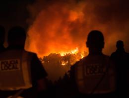 L'incendio che ha devastato l'isoladi Gran Canaria