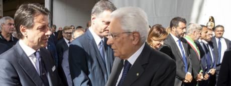 Sergio Mattarella, Giuseppe Conte