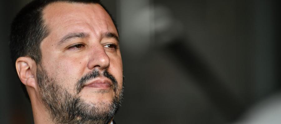 """Salvini: """"Ritiro dei ministri? Dipende dal discorso di Conte"""""""