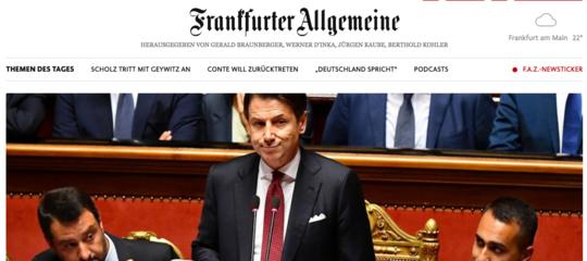 crisi governo stampa tedesca