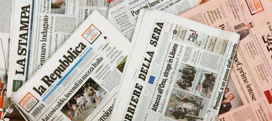 rassegna stampa crisi governo