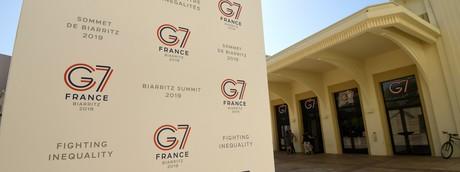 Biarritz, Francia. Sede del G7