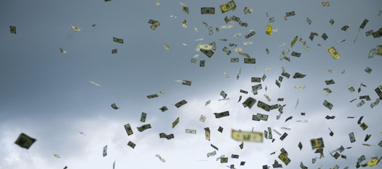 recessione helicopter money