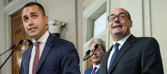 ultime governo m5s pd accordo