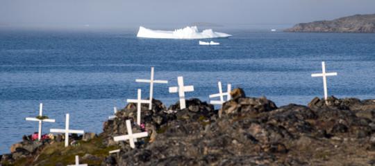 groenlandia islandacambiamenti climatici