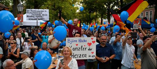 elezioni germania afd brandeburgo sassonia