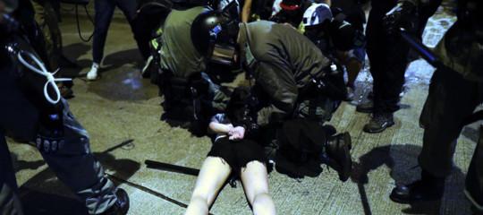 hongkong studente in coma