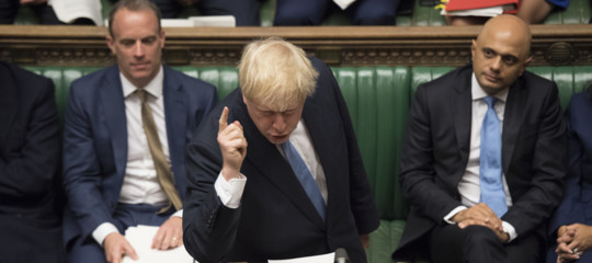 brexit no deal borsi johnson
