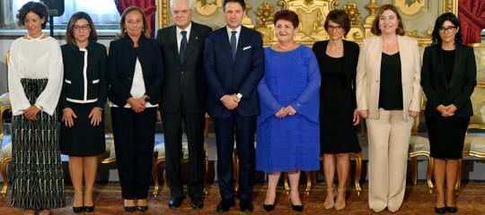 ministri conte giuramento look