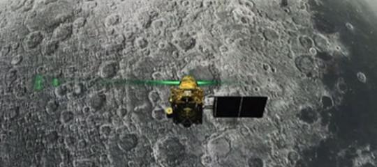 satellite indiano schianto luna