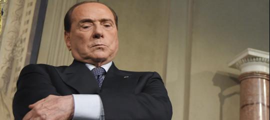 berlusconi minaccia forza italia fiducia governo conte