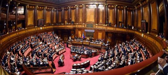 fiducia governo conte senato