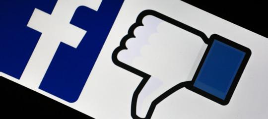 CasaPoundForza nuova oscuramento facebook