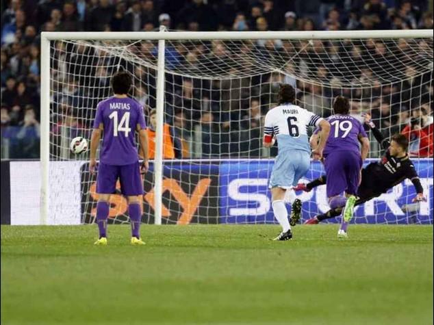 Poker Lazio alla Fiorentina, 4-0; Juve-Sassuolo 1-0, gol di Pogba