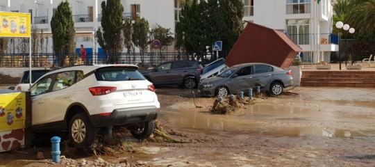 alluvioni morti spagna almeria
