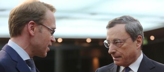 bce Bundesbank Draghi misure non necessarie