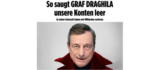 mario draghi stampa tedesca