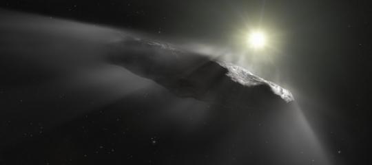 cometa c/2019 oumuamua